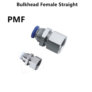 Bulkhead Female Straight